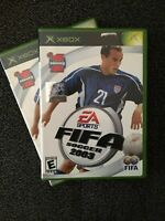 EA SPORTS FIFA SOCCER 2003 - XBOX - WORKS ON 360 - COMPLETE W/MANUAL (F)