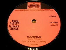 "HERB ALPERT AND THE TIJUANA BASS - FLAMINGO  7"" VINYL"