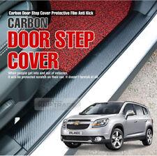 Carbon Door Scuff Decal Sticker Anti Cover Protector for CHEVROLET 10-18 Orlando