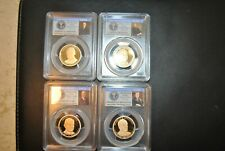 2014-S Presidential Proof Dollar Set, (4) PCGS PR-69 DCAM Presidential Series