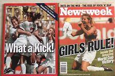 TIME Magazine -WHAT A KICK! & NEWSWEEK Magazine - GIRLS RULE! - July 19, 1999