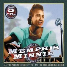 MEMPHIS MINNIE - QUEEN OF COUNTRY BLUES 5 CD NEUF