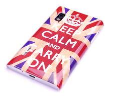 Funda f LG Optimus l5 e610 bolso funda protectora case cover Inglaterra UK gb keep Calm