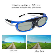 Active Shutter 3D Glasses for Acer/BenQ DLP-Link Projector Movie USB Charging US