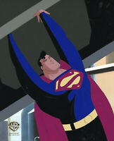Warner Brothers Animated Series Original Production Cel-Superman-Target