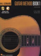 Método de guitarra Hal Leonard 1 libro con CD de música y audio Segunda Edición