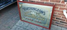 More details for antique colectors worthington brewery mirror breweriana