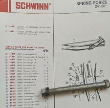 Schwinn 1968-73 Krate & Super DeLuxe Stingray Bicycles Front Fork Pivot Bolt/Nut