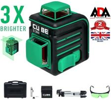 Laser Level KIT 360° Cross Line Self Leveling 360 Green Beam FULL SET + TRIPOD
