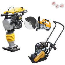 Vibrationsstampfer VS80S + Rüttelplatte VP60 + Benzin Trennschneider SPAR-SET!!