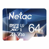 Netac 64GB Micro SD Card Class10 SDXC Memory Card TF Card for Phone/Camera