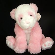 Gund Heads Tales Pink White Panda Bear Plush 44723 Stuffed Animal 13""