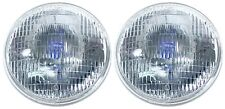 "Ford Headlights FoMoCo on Lens NEW!! 7"" Round Halogen Sealed Beam Universal Pair"
