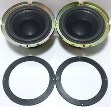 """2 Bose Acoustimass 3/9/10/25/30 Speaker Genuine OEM Replacement 6""""Woofer Drivers"""