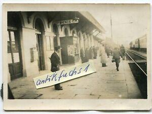 Foto: der Bahnhof Firenze C M. / Florenz in Italien im 2.WK
