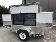 Premium 6 x 5 mobile Display, farmers market  cool room, portable Trailer
