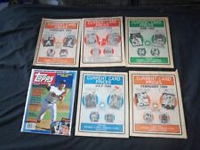 1980'S-1990'S BASEBALL PRICE GUIDE MAGAZINES - LOT OF 38 - CW 5031
