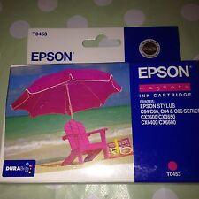 Cartucho de tinta de impresión Magenta Original EPSON impresora STYLUS C64 CX Modelos Etc Nueva