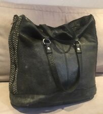 Sac Cabas BERENICE Bag Authentique Leather Cuir Façon Use vieilli