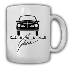 Karmann Ghia Logo Wappen Auto PKW Oldtimer Wolfsburg- Kaffee Becher Tasse #16339