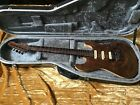Patrick James Eggle UK 96 Carved Top Walnut Prototype#1 Walnut/See Through Ash for sale