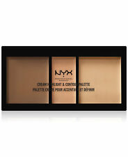 NYX CREAM HiGHLiGHT & CONTOUR PALETTE BRONZER CONCEALER SET - MEDIUM CHCP-02