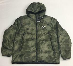 Nike Shield Men's AOP Down-Fill Windrunner Jacket (CU4406-397) Size: XXL
