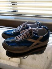 POLO SPORT vintage Inspired Running Shoes Gym Sneakers BLUE women's Size 9
