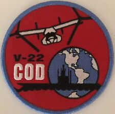 V-22 Osprey Cod Carrier Onboard Delivery Patch Navy