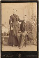 CAB Foto Feines Paar - Schlüchtern 1890er