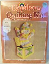 "RAINBOW Quilting Kit ""Jack In The Box"" Designed by Carolyn Cohen 38"" x 21""(8084)"