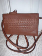 NWT Fossil Leather Sophia Wallet Crossbody Handbag Clutch Brown