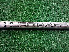 """NIKE VAPOR KURO KAGE SILVER TINI STIFF FLEX DRIVER SHAFT!! 44 1/8"""" to TIP!! VG!!"""