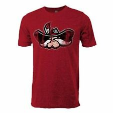 NCAA UNLV Rebels Vintage Sheer Short Sleeve Tee, Small, Antique Cherry Red