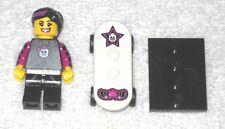 Lego Minifigure - Skater Girl - 100% complete