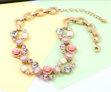 Betsey Johnson Alloy Rhinestone Fashion Woman Enamel Flower Necklaces Jewelry