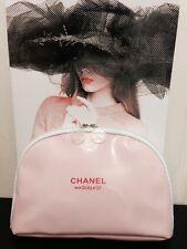 Pink Chanel Bolsa de Cosméticos Regalo Vip