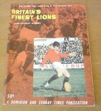 Britain's Finest Lions (1971 Tour of New Zealand)  - Souvenir Brochure