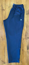 Champion Performax Warmctrl Blue Tracksuit Bottoms With Pockets Size XL