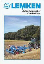 Lemken Aufsattelgrubber Combi-Liner Prospekt 10/03