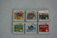6 games Pokemon Mario Monster Hunter nintendo 3ds game lot