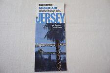 More details for 1964 southdown coach air jersey publicity brochure channel islands