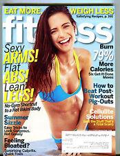 Fitness Magazine July/August 2013 Flat Abs! Lean Legs! EX 070616jhe2