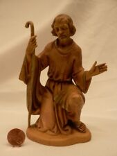 "Vtg Fontanini 6"" kneeling Joseph figure #5261 Romana 1983 Nativity Creche"