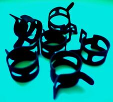 """FUEL LINE SPRING HOSE CLAMPS (25 CLAMPS) 19/64"""" (7.54MM) #0758"""