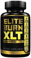 Thermogenic Fat Burner- Weight Loss Slimming Diet Supplement-  Elite Burn XLT