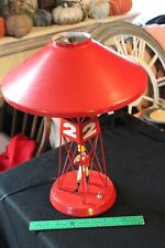 Rare 1960's Johnnie Walker Red Buoy Lamp #2 Working / Excellent Condition