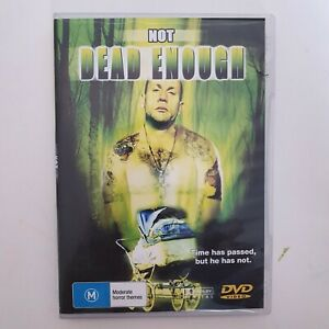 Not Dead Enough DVD Movie Region 4 Free Post - Horror Thriller