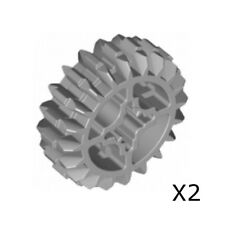 Lego - Technic, Gear 20 Tooth Double Bevel (X2) - Pick Your Color !