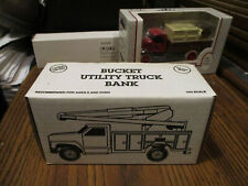 ERTL LAPP ELECTRIC UTILITY/ BUCKET TRUCK BANK 1993 # B120
